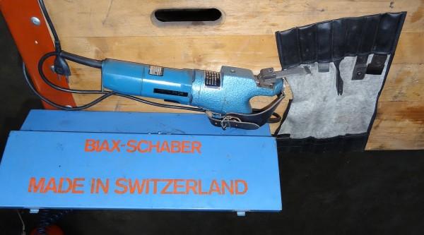 Biax 10/E Schaber