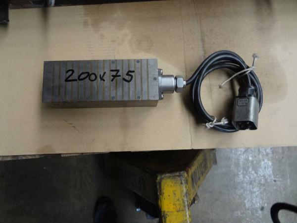 Elektromagnetplatte