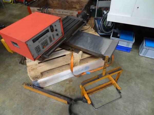 Gesteuerter CNC 80-S Kreuztisch