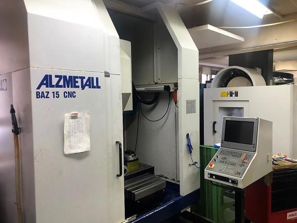 Alzmetall BAZ 15 CNC Bohr und Fräs Bearbeitungszentrum