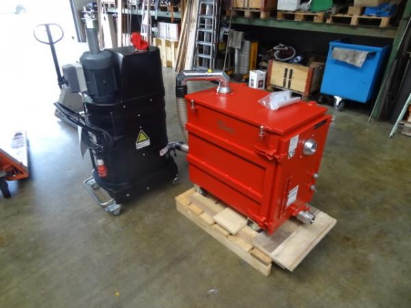 Ruwac DS 1400 Industriesauger mit Drehstromantrieb und NA 250-3 Nassabscheider