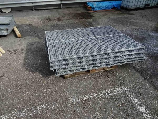 Denios Bodenauffangwannen aus Stahl verzinkt